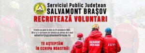 Serviciul Public Județean Salvamont Brașov recrutează voluntari