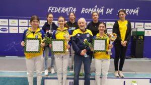Floretista Coronei, Enya Male, a câștigat Cupa României la floretă U15!