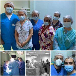 FOTO Șansă la viață! Prelevare de organe la Brașov, de la un pacient de 21 de ani aflat în moarte cerebrală